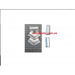 Храмированные вставки окон ваз 2121,21213
