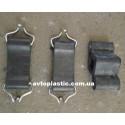 Комплект резиновых креплений глушителя ваз 2121(3 шт)