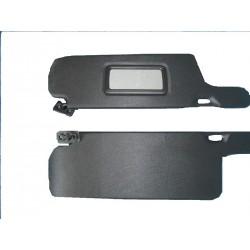Козырьки 2108 противосолнечные жесткие(черные)