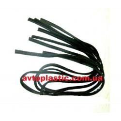 Резиновые уплотнители дверных проёмов ВАЗ 1118 Калина (к-т)