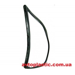 Резиновый уплотнитель стекла боковины ВАЗ 1118 левый