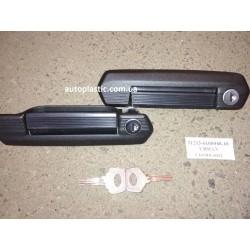 Ручки наружные ваз 2121,21213,21214(черные нового образца)