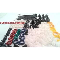 Комплект пластикового крепежа ваз 2170