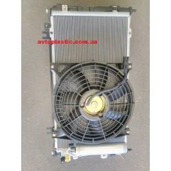 Радиатор кондиционера и основной ваз 1118