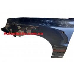 Крыло левое Daewoo Lanos,Sens крашеное цвет 87U (серо черный)