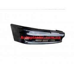 Бампер передний Daewoo Lanos,Sens крашеный цвет 87 U(серо черный)